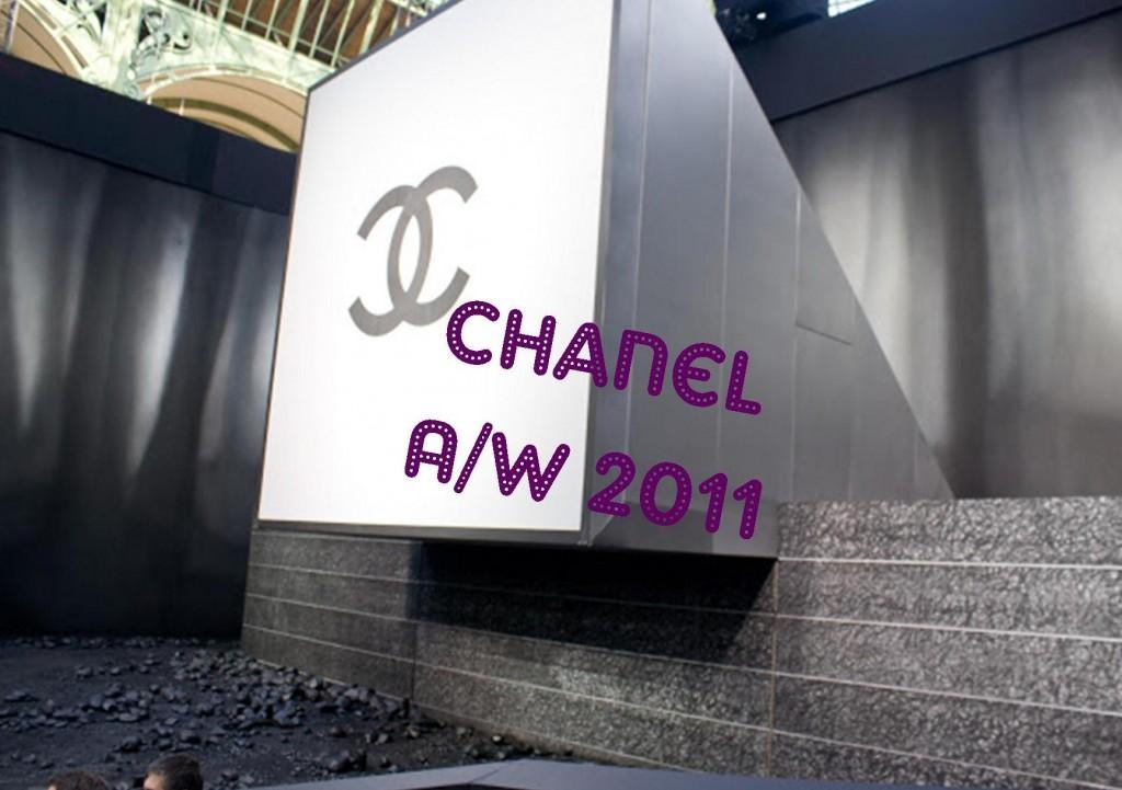 Chanel A/W 2011 Paris Fashion Week