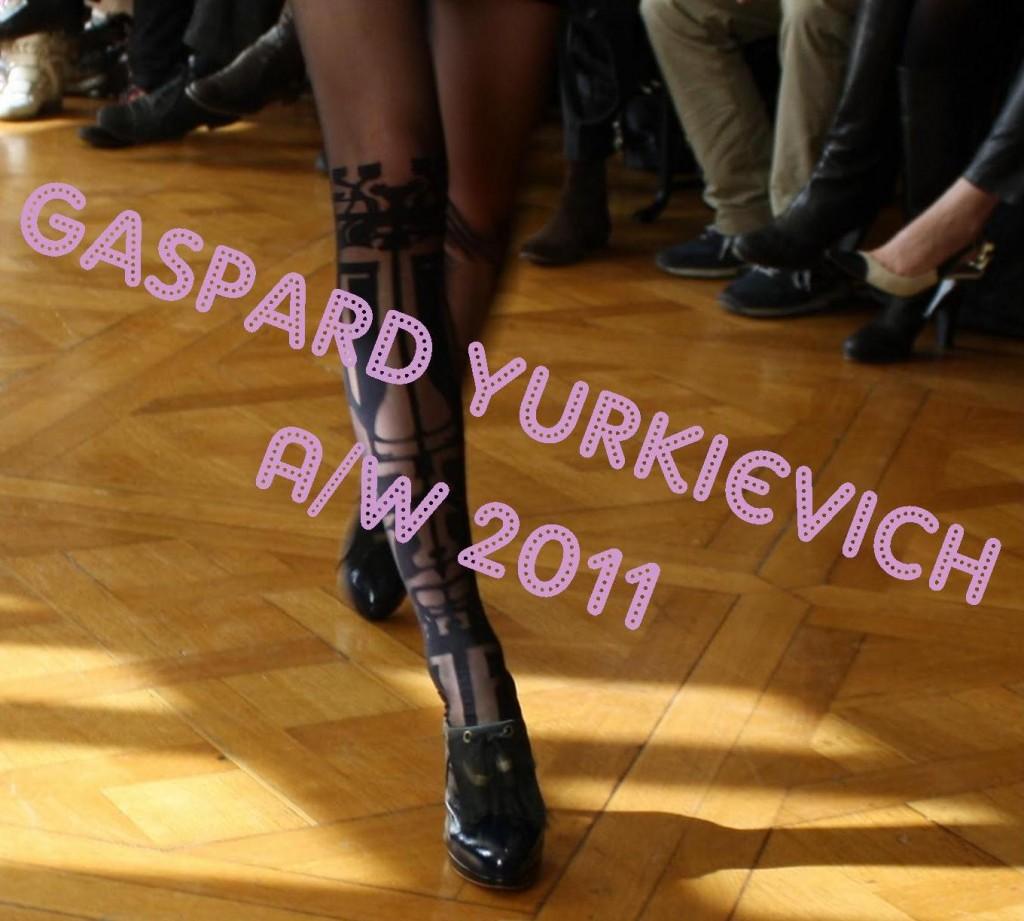 Gaspard Yurkievich A/W 2011 Paris Fashion Week