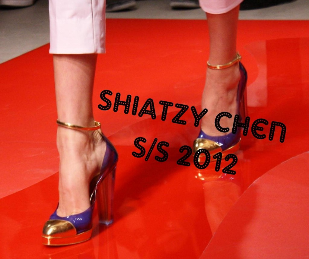 Shiatzy Chen S/S 2012 Paris Fashion Week