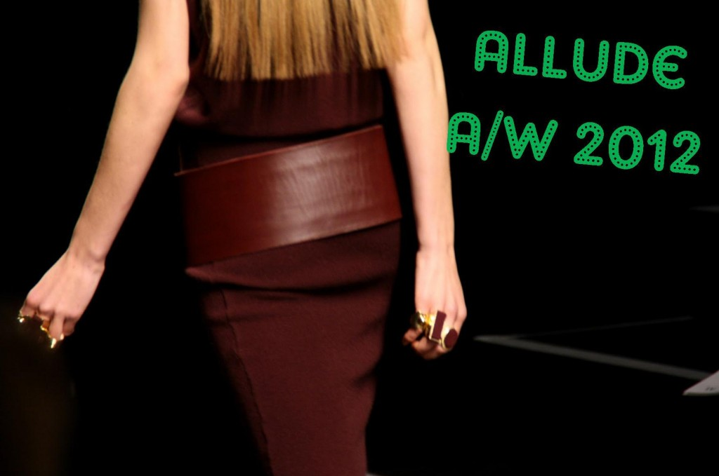 Allude AW 2012