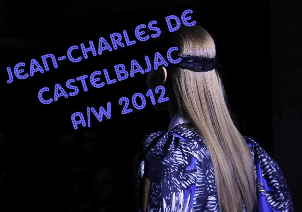 Jean Charles De castelbajac AW 2012