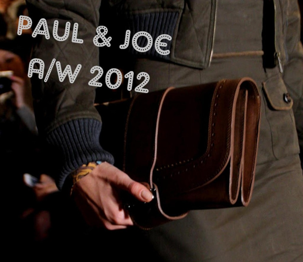 Paul and Joe AW 2012 Paris Fashion week