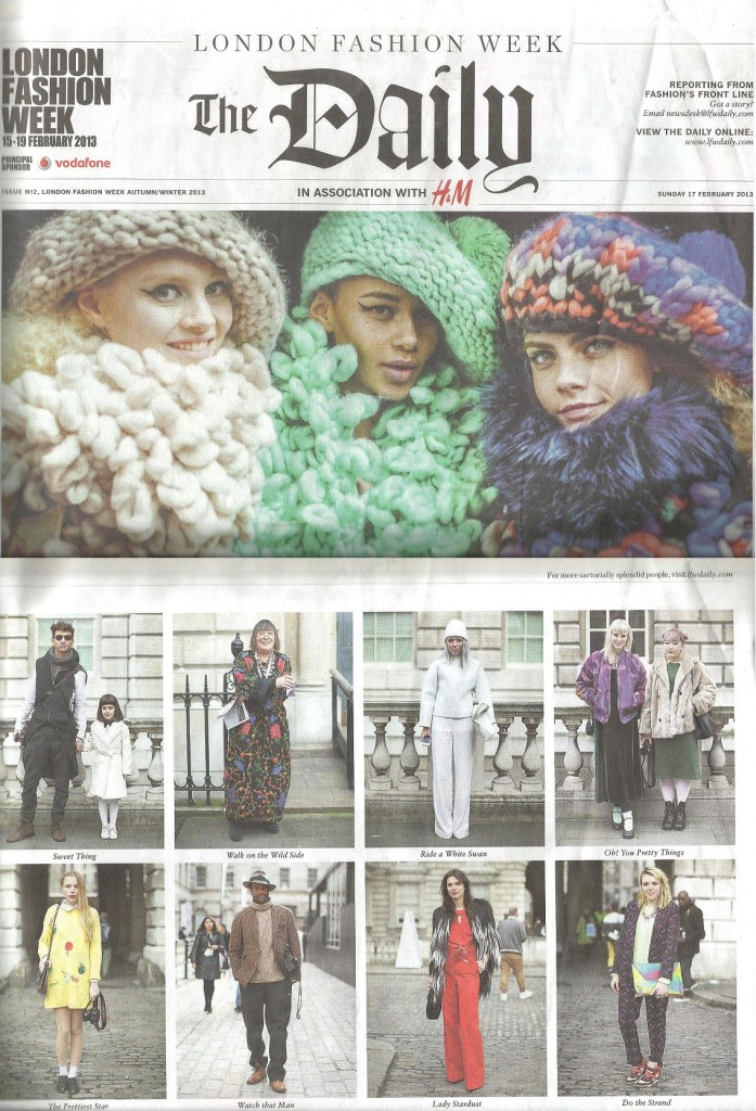 Bunnipunch in The LFW Daily Feb 2013