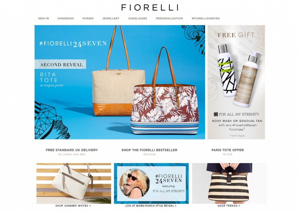 Bunnipunch x Fiorelli Rita Tote bag launch SS15