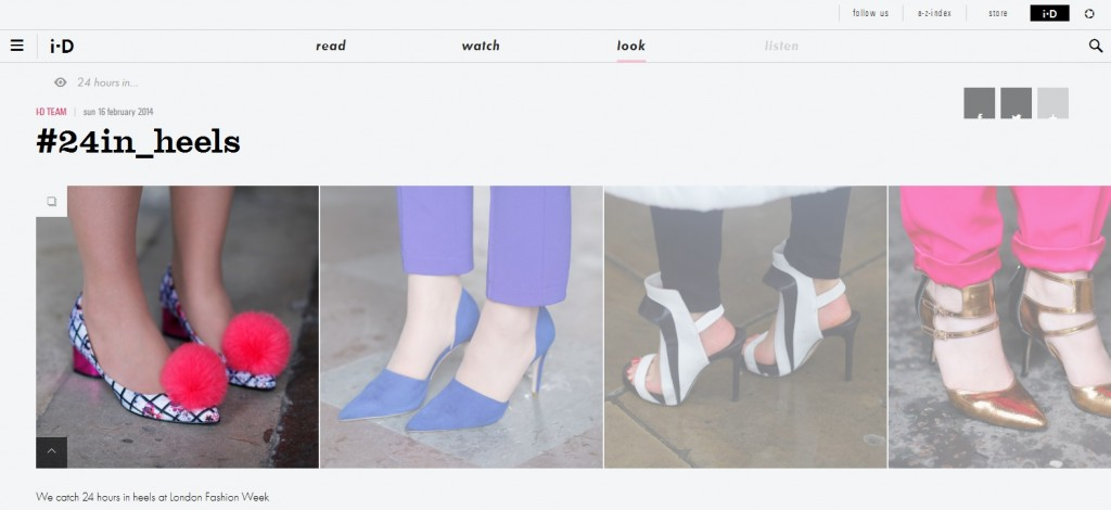 ID LFW shoe coverage AW 2014
