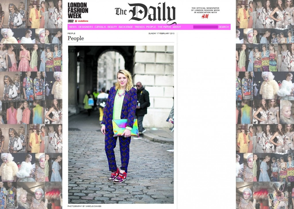 The Daily LFW AW 2013