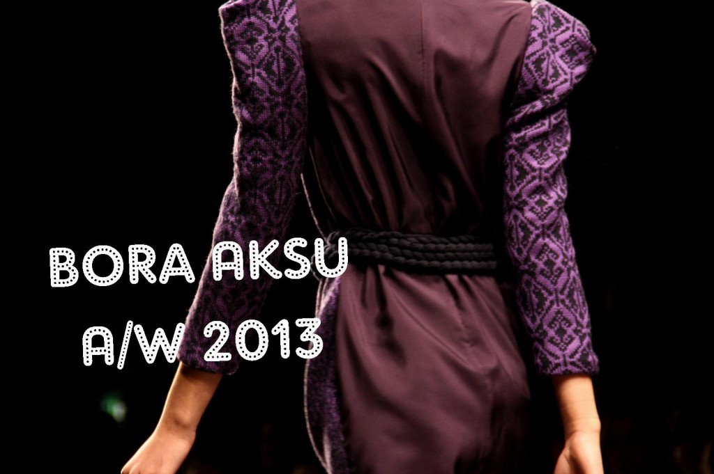 Bora Aksu A/W 2013 London Fashion Week