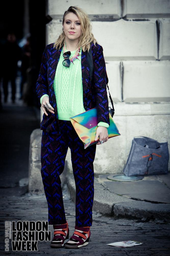 Street Style London Fashion week AW 2013