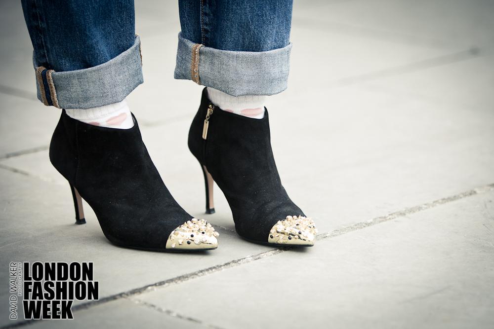 London Fashion Week A/W 2013 Street Style