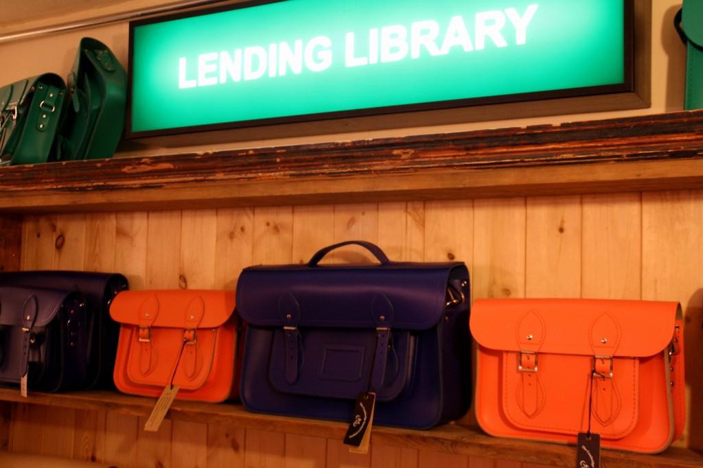 The Cambridge satchel Company Store launch