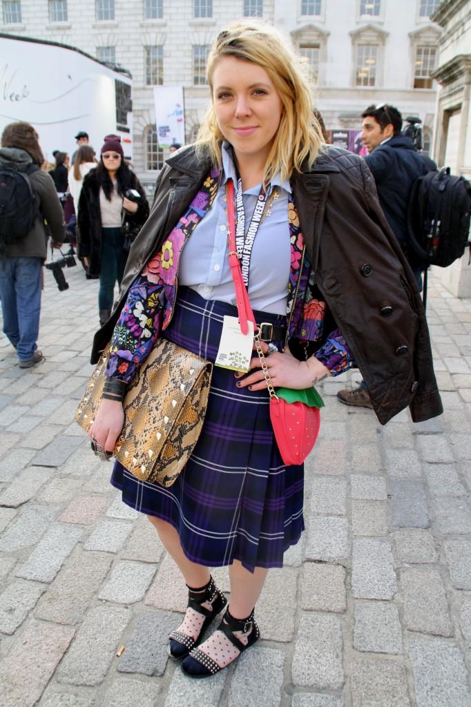 London Fashion Week Day 4 Street style