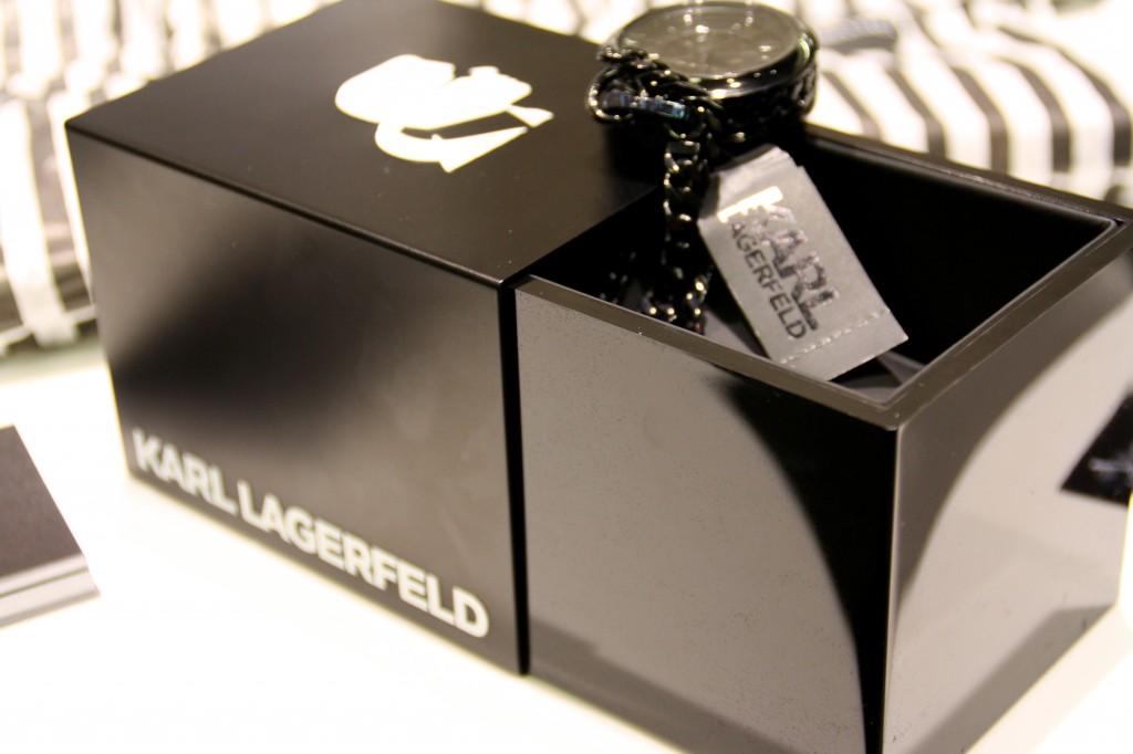 Karl Lagerfeld watches 2013