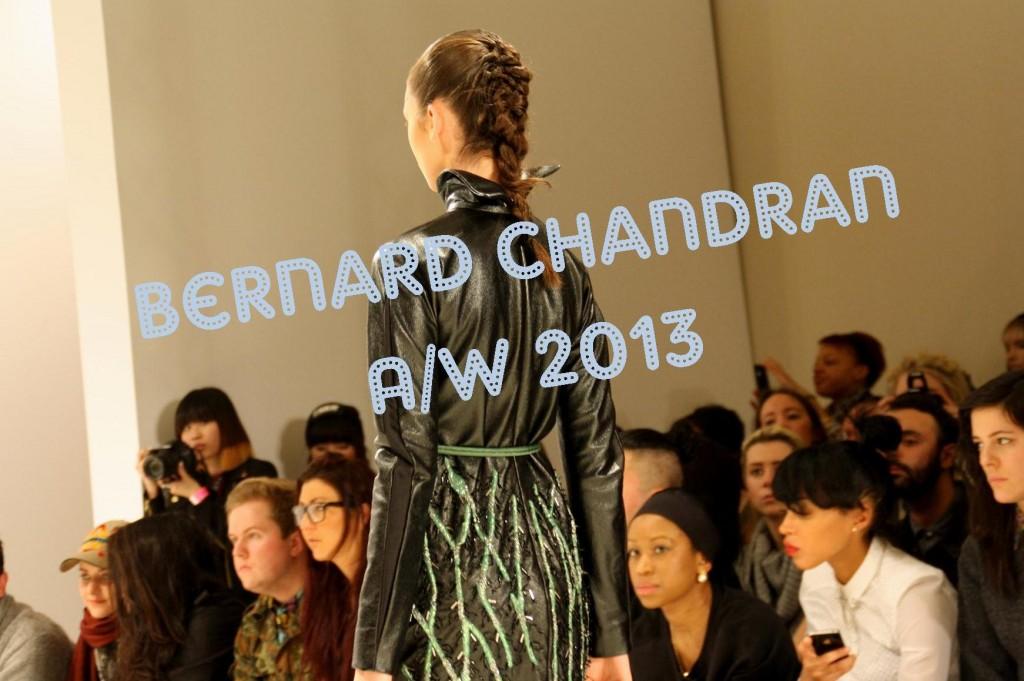Bernard Chandran AW 2013