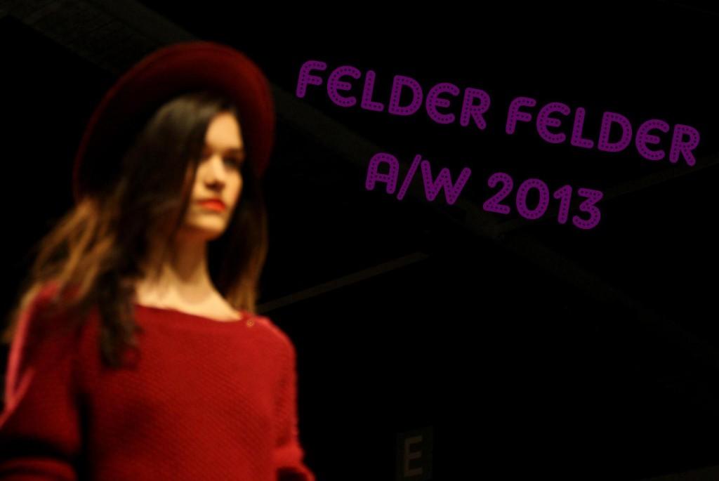 Felder Felder A/W 2013