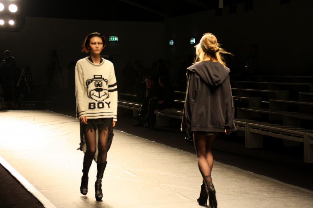 Animaka Wilmont A/W 2013 London Fashion Week Backstage