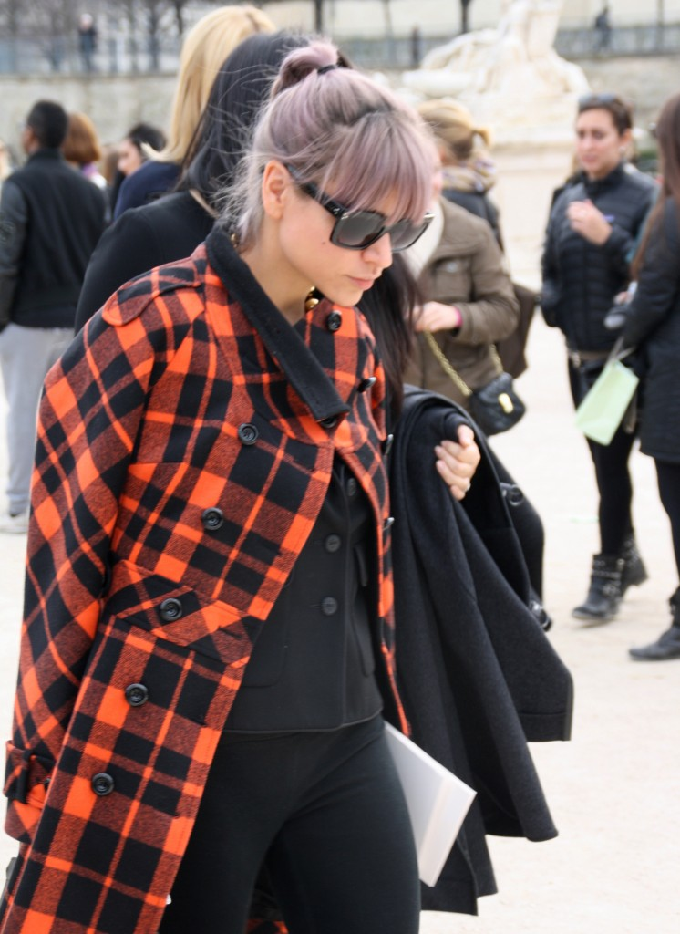 Street Style Paris Fashion Week A/W 2013