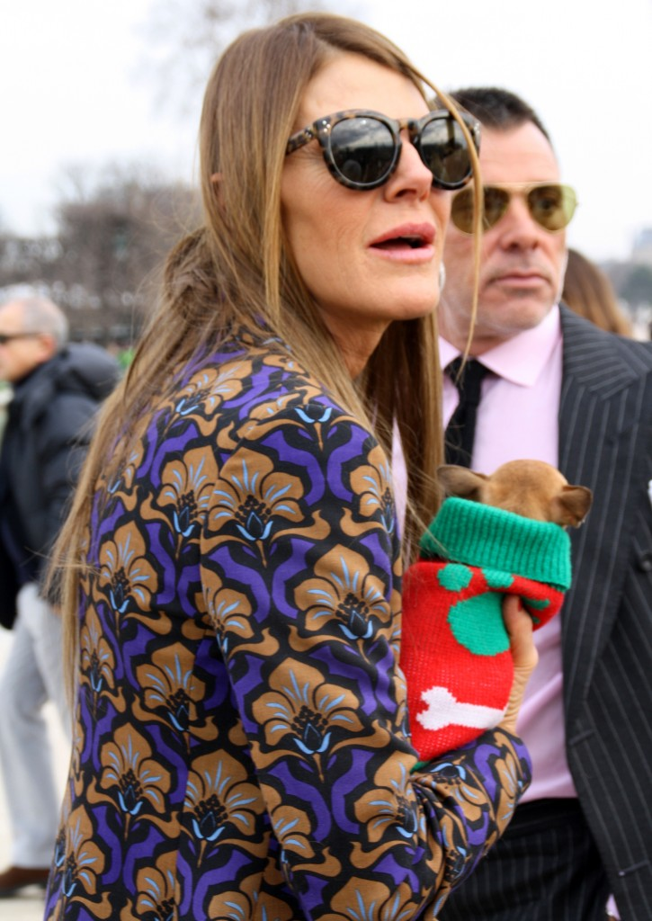 Anna Dello Russo Street Style Paris Fashion Week A/W 2013