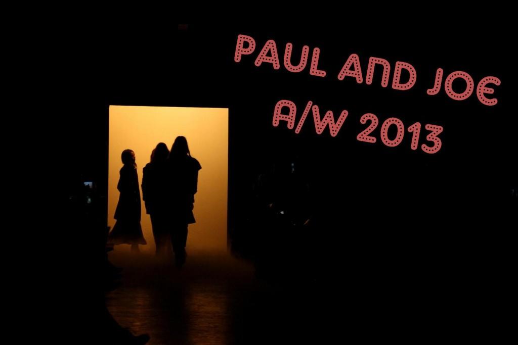 Paul and Joe AW 2013