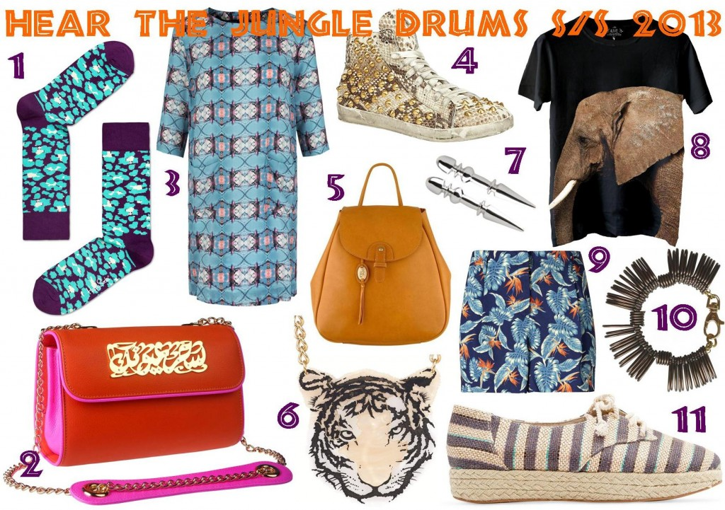 Hear the jungle drums S/S 2013