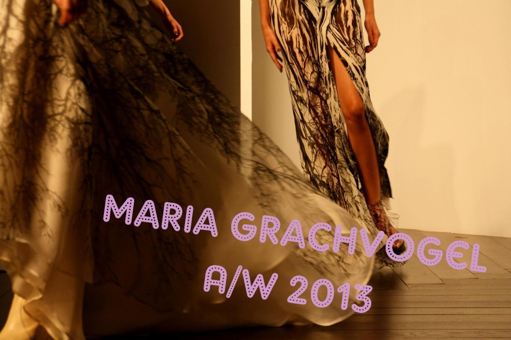 Maria Grachvogel AW 2013