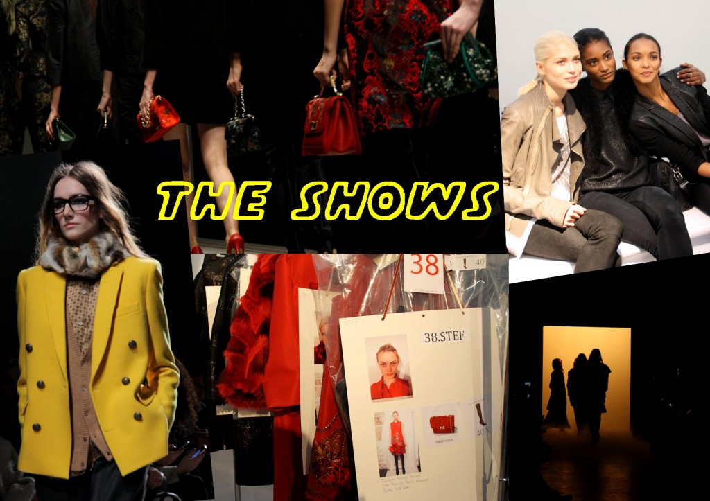 The shows PFW 2013