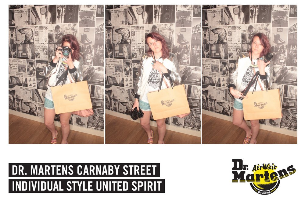 16th May 2013 DR Martens Store visit