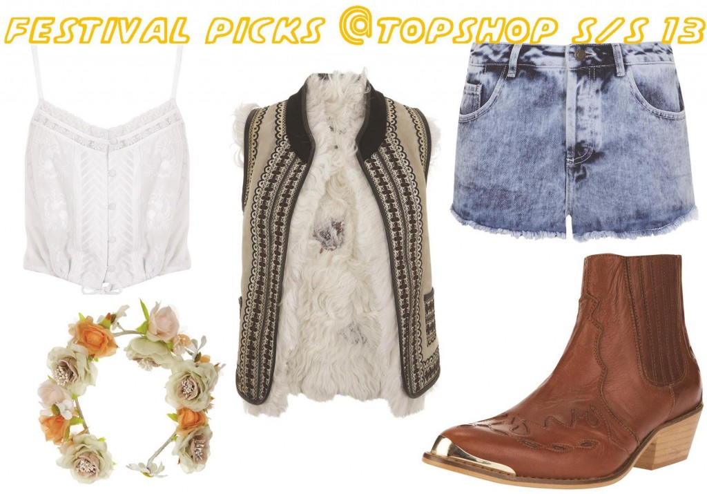 Festival picks at Topshop SS 2013 Bunnipunch