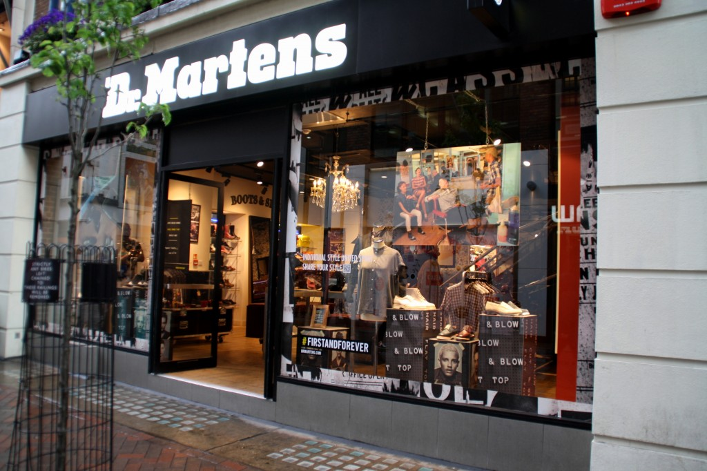 Dr Martens Carnaby street London Bunnipunch