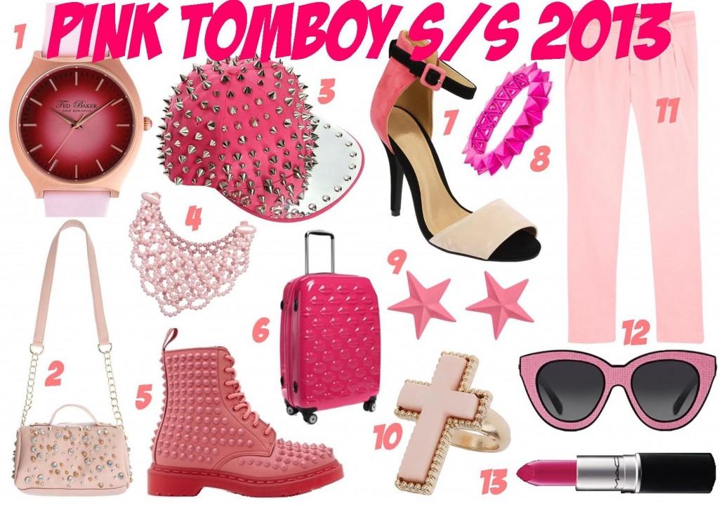 Pink Tomboy SS 2013