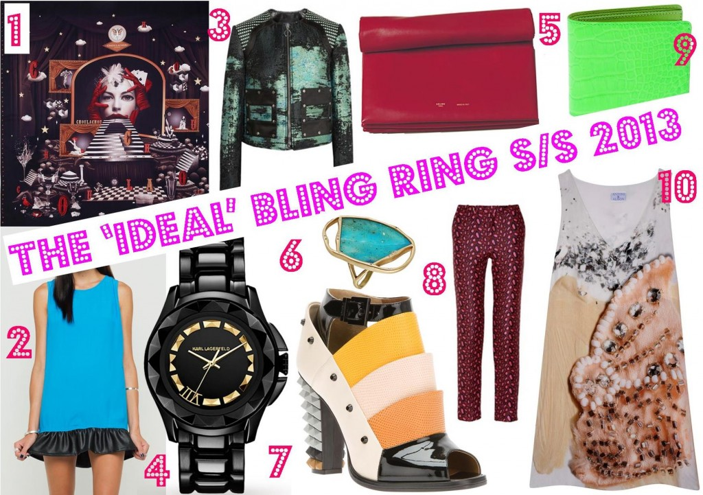 The ideal bling ring SS 2013