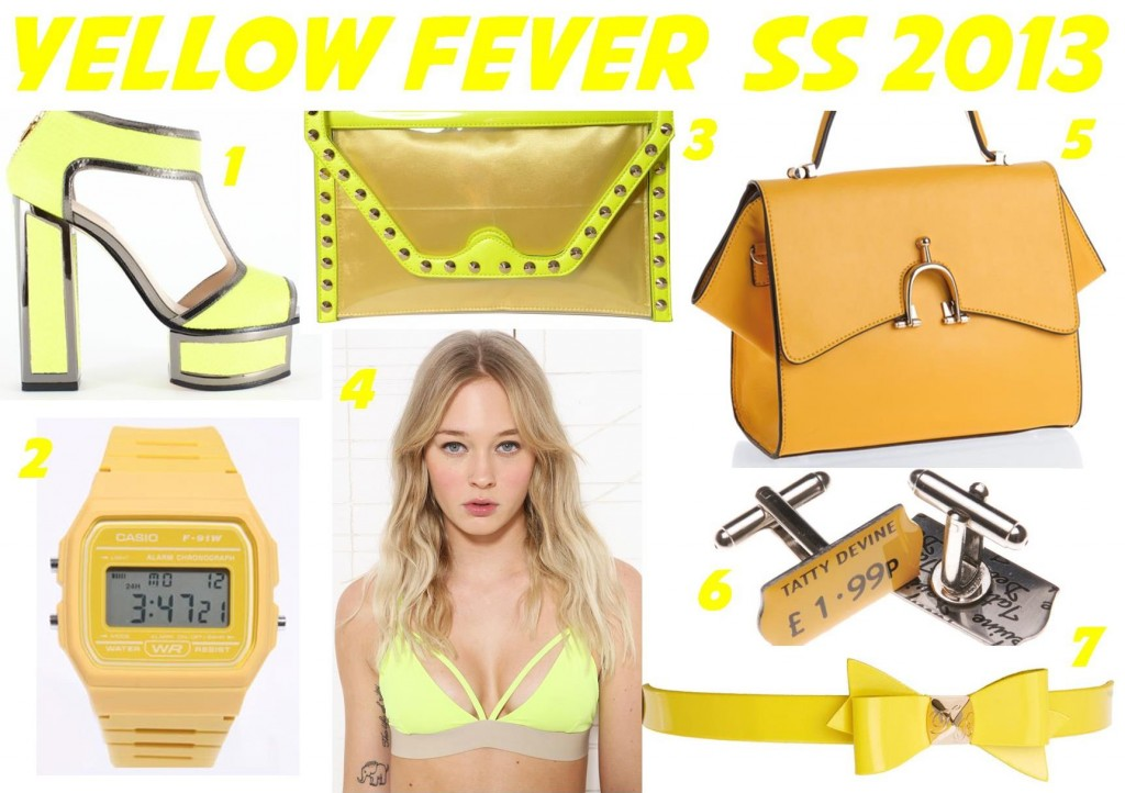 Yellow Fever SS 2013