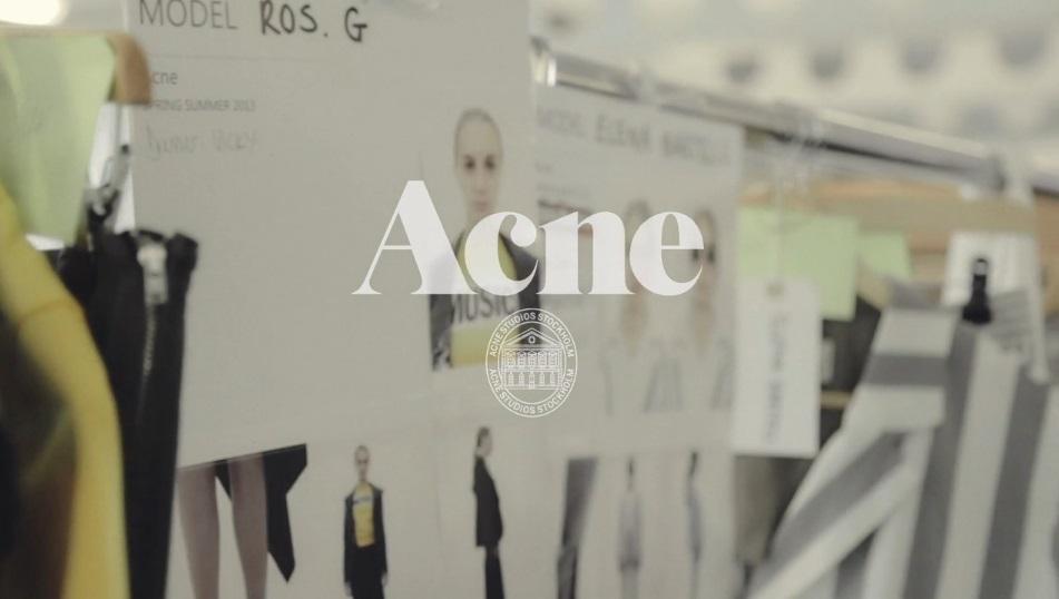 Acne SS 2013