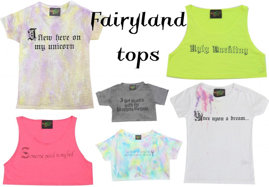 Fairy land tops