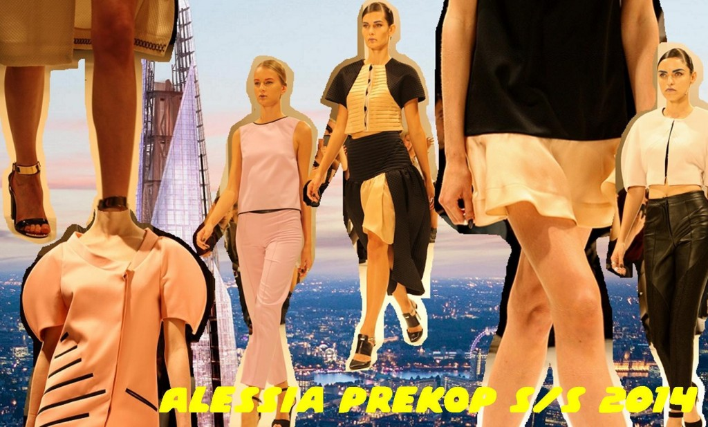 Alessia Prekop SS14 London Fashion Week