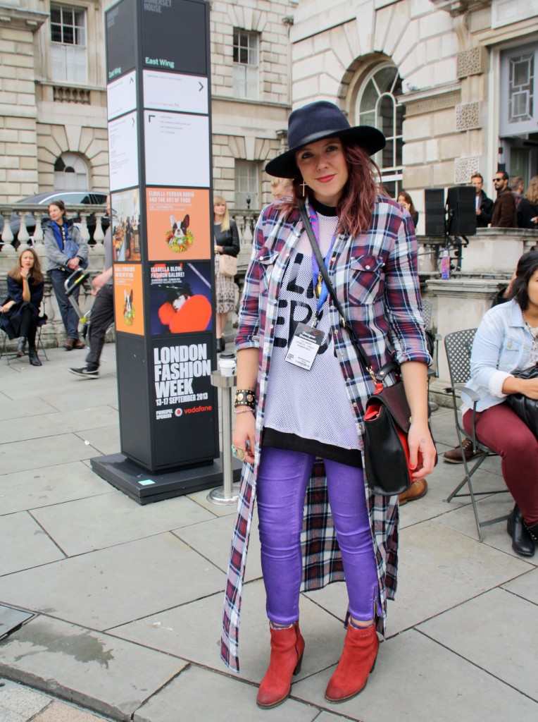 London fashion week day 2 street style ss14