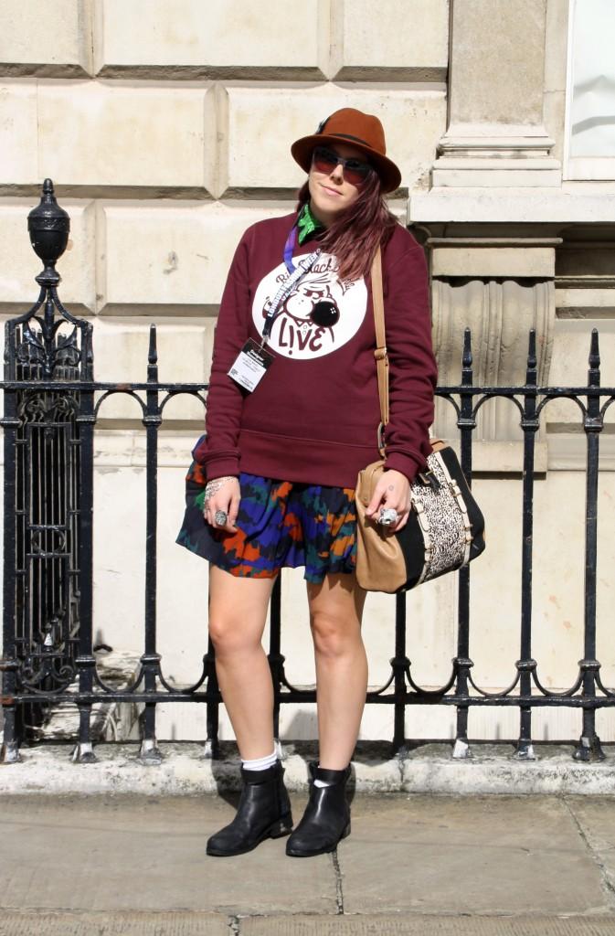 Lacoste Street Style S/S 2014 London Fashion Week