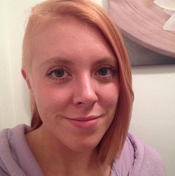 Me blonde