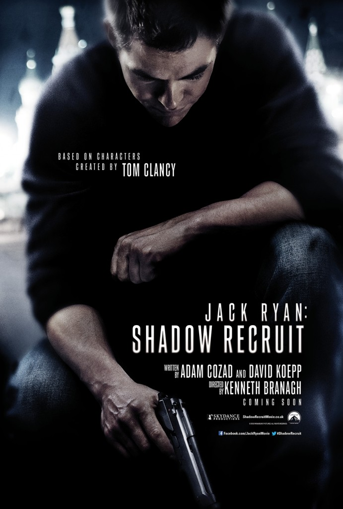 Jack Ryan: Shadow Recruit Teaser poster