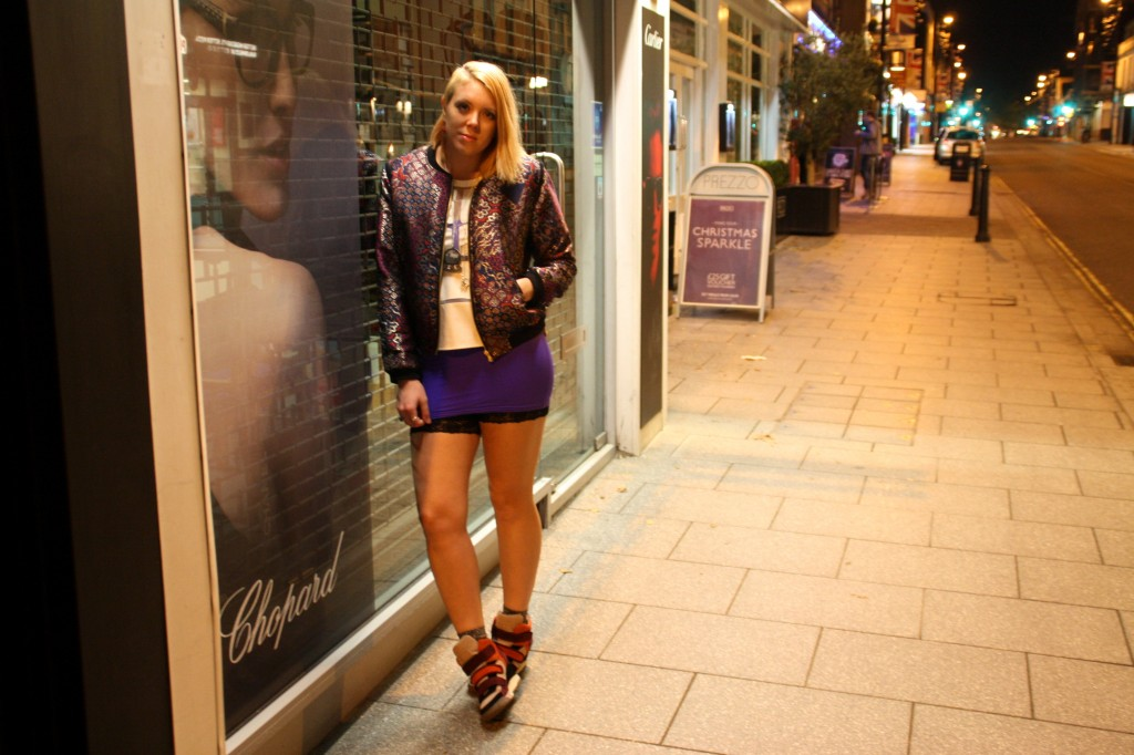 Purple street Outfit post bunnipunch