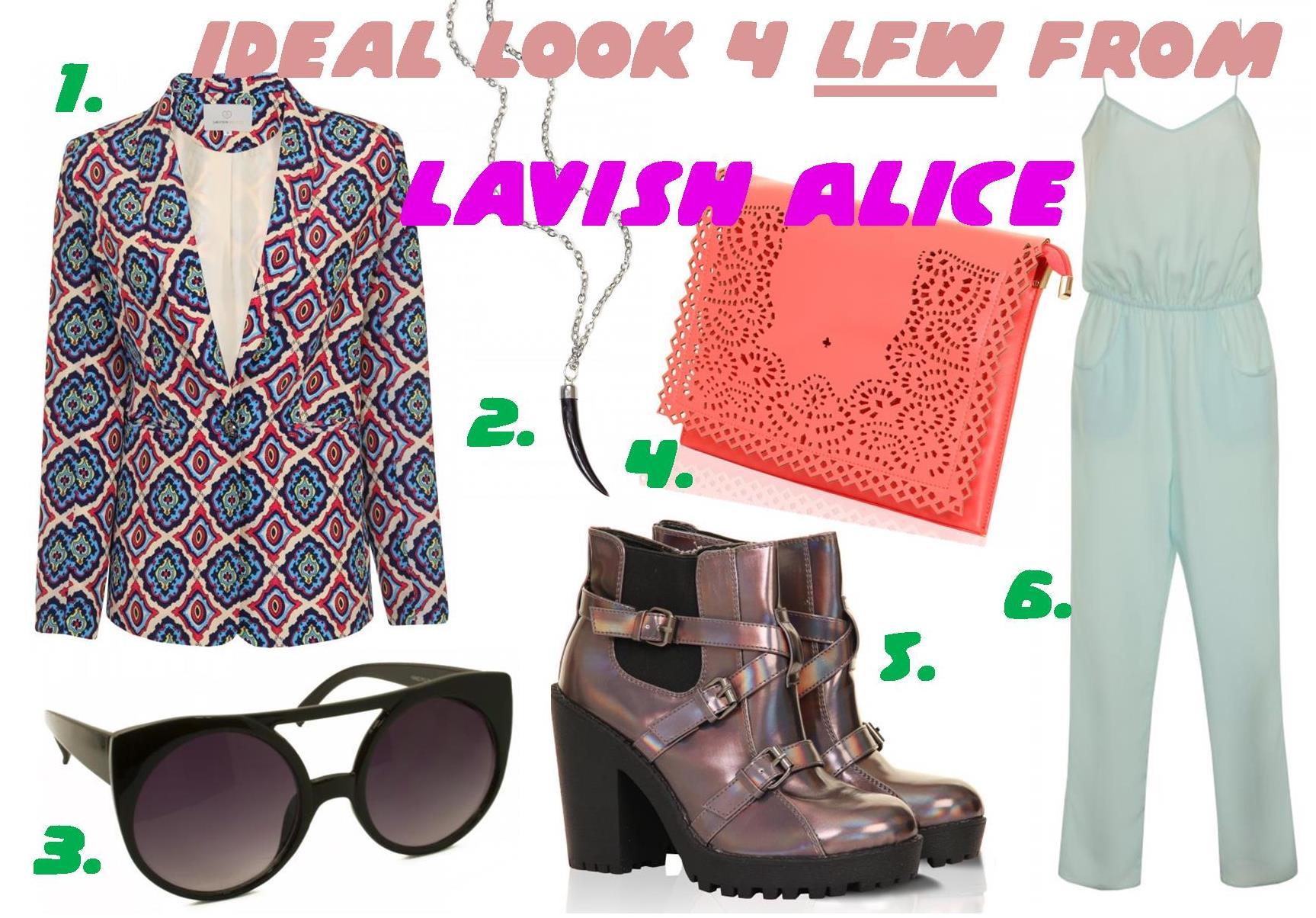 My ideal LFW look from Lavish Alice