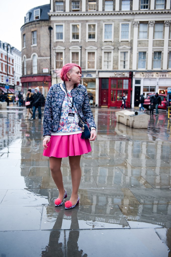 Bunnipunch LFW Day Outfit post