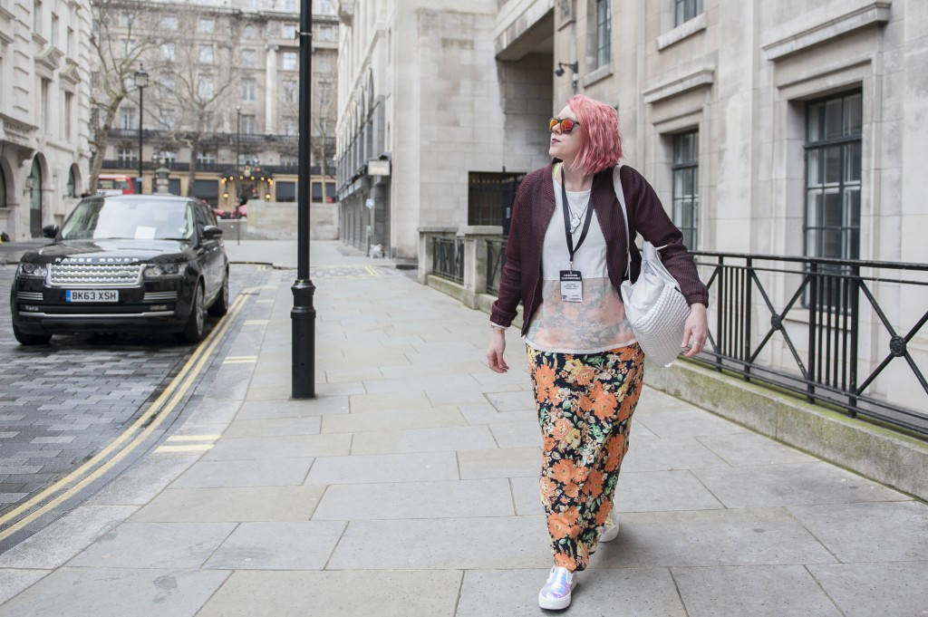 Bunnipunch LFW Day 2 Outfit post