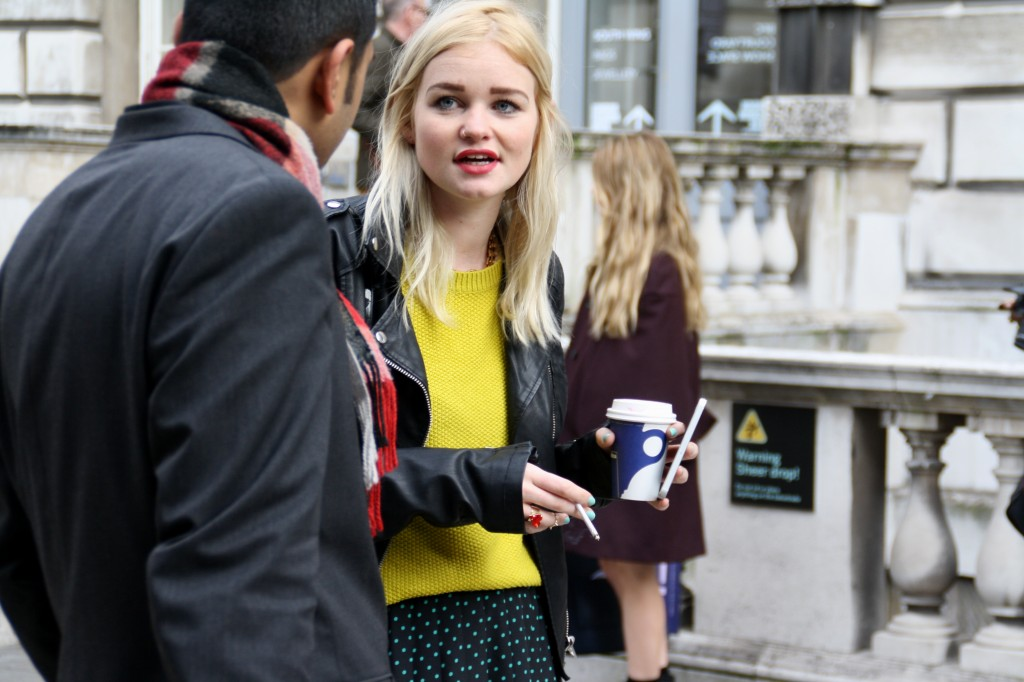 Lavazza London Fashion Week A/W 2014