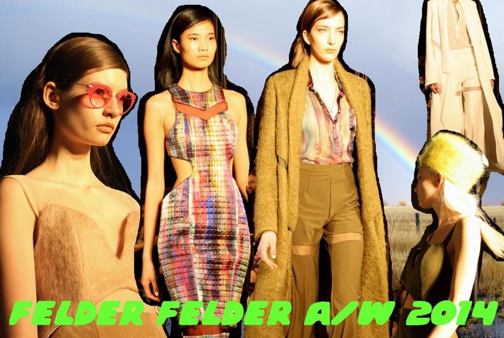 felder felder A/W 2014 Bunnipunch London Fashion Week