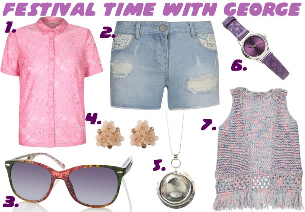 Festival time with George SS14