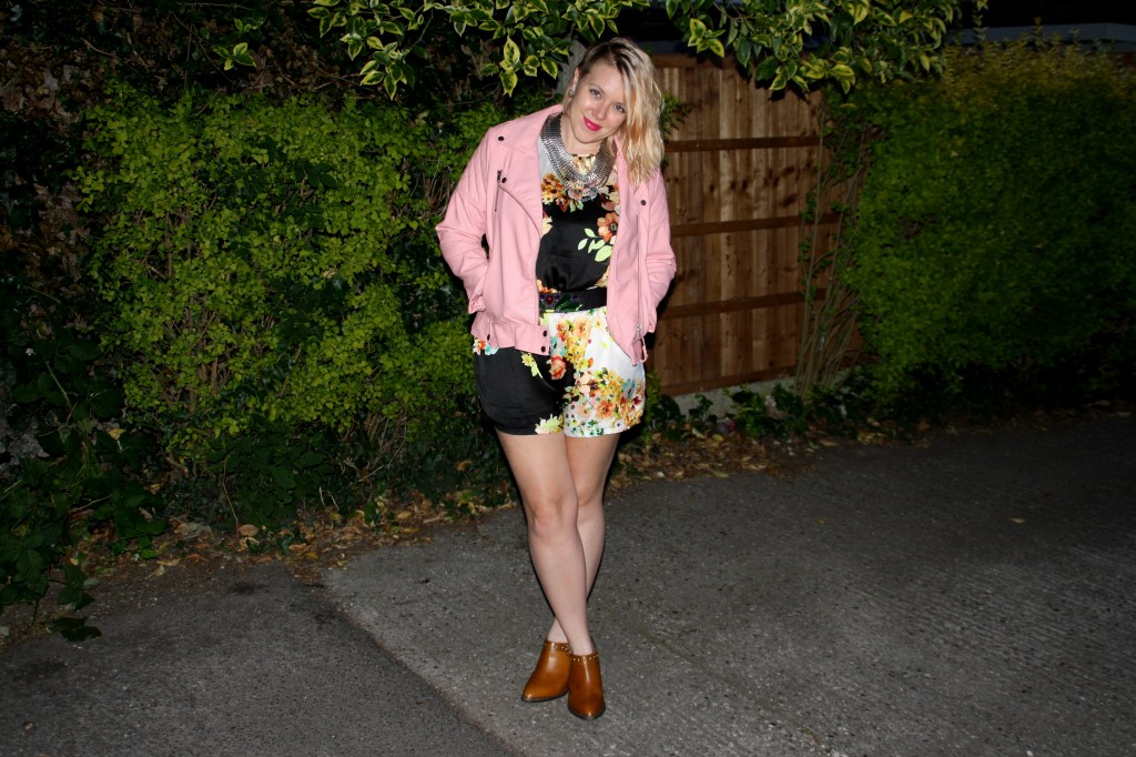 Pink Evening Flower Bunnipunch outfit post SS14