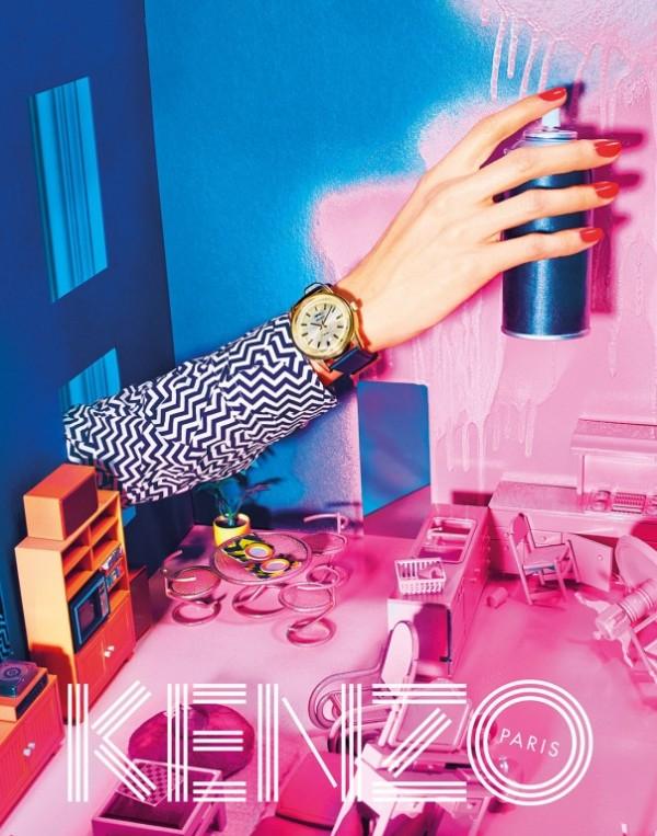 Kenzo Fall 2014 Campaign