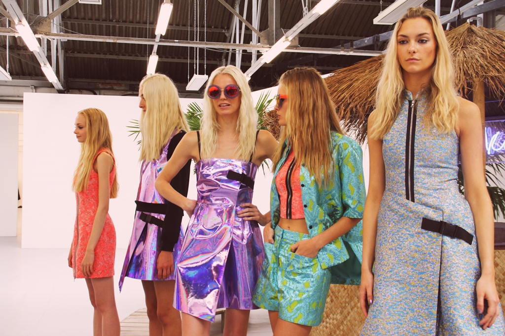 Markus Lupfer SS15 London Fashion Week Bunnipunch