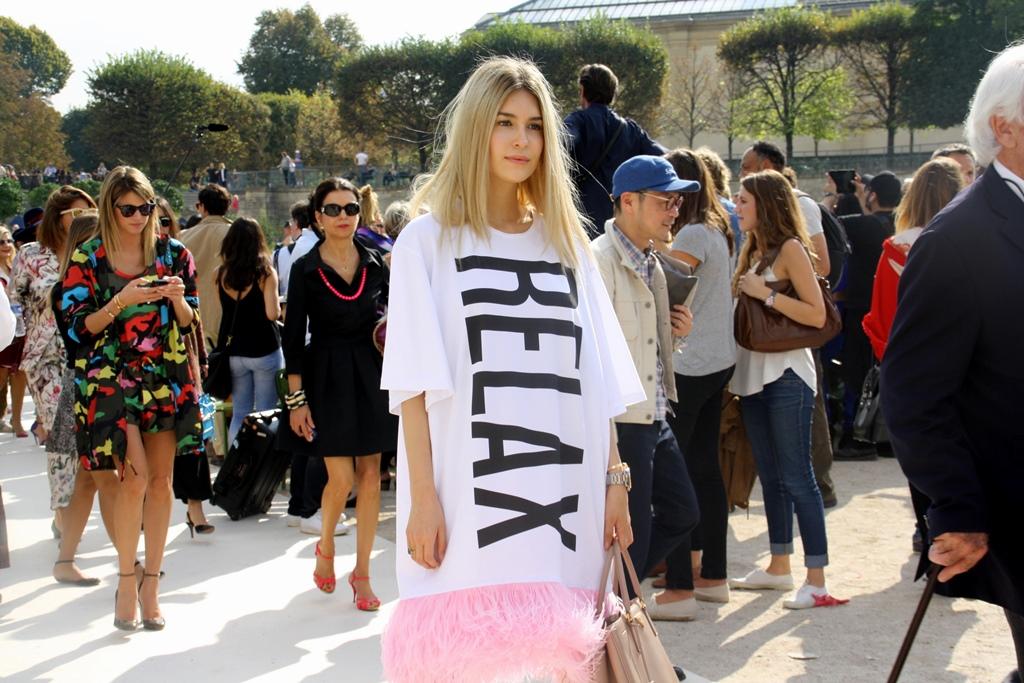 Street Style S/S 2015 – Paris Fashion Week