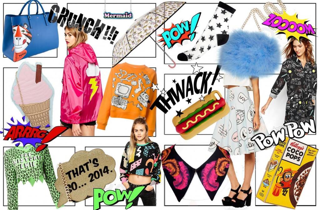 Comic book Fashion SS15